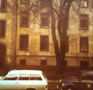 Baufällige Westfassade